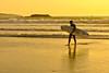 Surfer (f@gra) Tags: water playa beach surfer galicia lanzada pontevedra spain sony landscape paisaje golden sunset ocaso sun agua atlantico atlantic oceano arena océano mar