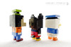 Disney Friends (dvdliu) Tags: lego moc basic classic sculpture statue disney mickey mouse donald duck goofy