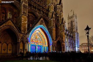 Westminster Abbey, London Lumiere 2018