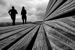 Exercise (Birdhouse camper) Tags: copenhagen denmark bench pov street lines silhouettes blackandwhite blackwhite fujifilm fuji xt2 fujixt2