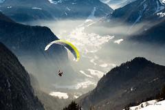 Au delà des nuages (MarKus Fotos) Tags: alpes alps hautesavoie hiver montagne mountains bernex gavot parapente vol libre