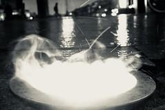 Raindrops (Testlicht) Tags: x100f fuji bw hamburg light evening
