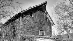 Little Old Timer (David C. McCormack) Tags: americana blackwhite bw blackandwhite barn country eos6d environment farm landscape midwest monochrome outdoor rural wisconsin winter