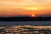 Montreal Morning (langdon10) Tags: canada canon70d montreal quebec shoreline stlawrenceriver sun cold outdoors snow sunrise winter