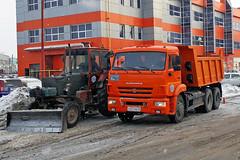 КамАЗ-65115  A 447 MB 45 (RUS) (zauralec) Tags: kurgancity streetradionova камаз65115 a 447 mb 45 rus курган автомобиль грузовик город улица