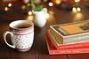 Libri e tè, le mie passioni, i libri che amo (Giovanna-la cuoca eclettica) Tags: stilllife tè tea teacup indoor wood vintage books libri