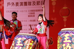 IMG_1718M Drum girl (陳炯垣) Tags: festival performance stage drummer traditional