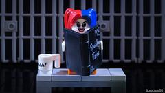 Harley Quinn in jail (black.zack00) Tags: dc dccomics lego harley quinn suicide squad batman toy suicid afol photographer minifig jail