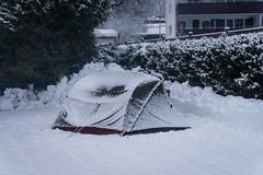Winter camping at St Johann