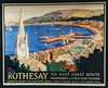 Rothesay Railway Poster (Scottish Maritime Museum - SMM) Tags: paddle steamer clyde scotland glasgow