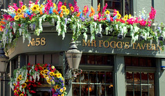 Pub flower box (Tony Worrall) Tags: london south southeast capital city southern uk update place location visit attraction open england english british unitedkingdom stream tour county country capture outside outdoors caught photo shoot shot picture captured pub bar inn boozer flowers bloom flowerbox sign corner words signage color colour