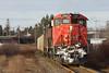 Problematic GE's Shoving - Dartmouth, NS (CWentzell Photography) Tags: cn rail railroad railway freight train gypsum loads locomotives motivepower canadiannational canada novascotia dartmouth wrights cove ge dash8 c408m c449wl