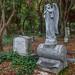 Angel Watching Over (Stew_Bayarea) Tags: dublinpioneercemetery graveyard statue headstone