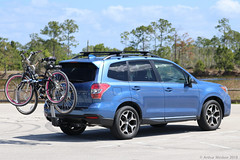 Subaru Forester; with Bikes (Arthur Windsor - Florida Wildlife) Tags: subaru forester florida
