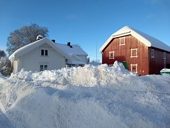 Østafor #1 (Krogen) Tags: norge norway norwegen akershus romerike ullensaker nordbymoen vinter winter krogen motorolag5plus smartphone