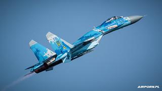 Ukrainian Air Force Sukhoi SU-27 Flanker