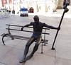 Burgos Escultura estatua del peregrino Plaza del Rey san Fernando 08 (Rafael Gomez - http://micamara.es) Tags: burgos escultura en la calle estatua del peregrino plaza rey san fernando moderna contemporanea metal bronce hierro arte urbano cotidiano homenaje