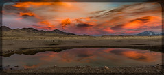 Sunset (Jami Bollschweiler Photography) Tags: sunset photography utah west desert antelope island reflections landscape bear river migratory great salt lake sunrise pineview