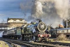 Fine Sight (4486Merlin) Tags: 8572 england europe exlner gerclassb12 greatcentralrailway heritagerailways midlands railways steam transport unitedkingdom loughborough leicestershire gbr gcrwintersteamgala