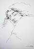 P1017760 (Gasheh) Tags: art painting drawing sketch portrait girl line pen charcoal gasheh 2018