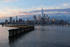 Manhattan Sunrise (russ david) Tags: manhattan sunrise new york ny world trade center skyline building buildings hudson river jersey city nj architecture june 2017