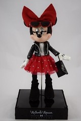 2018 Minnie Mouse Signature Limited Edition Doll - Disney Store Purchase - Deboxed - Reposed in Display Stand - Full Front View (drj1828) Tags: disneystore limitededition doll signature minniemouse rockthedots 2018 purchase 11inch deboxed freestanding