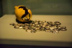 Treasure at the museum (thervisis) Tags: treasure gold museum ancient greece delphi δελφοί arcaeological αρχαιολογικό μουσείο δελφών
