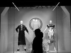 Outerwear (mattwaller@ymail.com) Tags: seattle fashion blackandwhitephotography blackandwhite bnw blackwhite bw monochrome urban city streetphotography street streetphotographers streetphoto streetlife shopping
