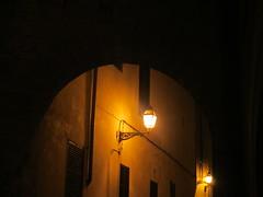 Old Spanish Night (Sven Bonorden) Tags: nacht night lamp lampe strasenlaterne lantern light licht altstadt oldtown city stadt palma dunkel dark mallorca palmademallorca balearen spanien spain espana