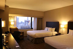 """Spacious """"city view"""" room (Can Pac Swire) Tags: calgary downtown city centre center alberta canada canadian 2017aimg0471 hotel room delta by marriott bow valley 209 4 4th avenue ave se"""