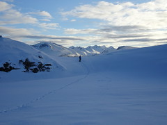 Walking in the snow. (Mrs.Snowman) Tags: walking snow sulafjellet mtsula sunnmøre westernnorway