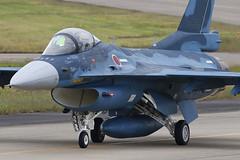Mitsubishi F-2A 13-8515 '515' 6 Hikotai (Mark McEwan) Tags: mitsubishi f2a 138515 6hikotai jasdf japanairselfdefenseforce fighter military airdefence aviation aircraft airplane hyakuri ibaraki japan