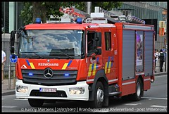 Brandweerzone Rivierenland - post Willebroek (gendarmeke) Tags: burgerlijke nationale feestdag défilé 2017 fête national day 21 juli juillet july civile civil parade