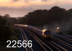 robfrance5d2_22566_280917_x59201_woodborough_pewsey_7a15_dbs_edr16lr6pse15weblowres (RF_1) Tags: 2017 59 591 59201 aggregate aggregates berkshantsline berkshantsrailway berksandhantsline berksandhantsrailway britain class59 class591 db dbcargo dbschenker dbc dbs deutschebahn diesel electromotive emd england freight generalmotors glint glinting glints gm goods greatwestern greatwesternmainline gwml hanson hansonquarryproducts haulage hauling jumbotrain loco locomotive locomotives mainline mainlinemainline mendiprail railfreight railroad railway railways stone sunset sunsets train trains transport transporting uk unitedkingdom wiltshire woodborough
