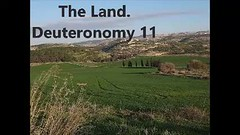 The Land. Deuteronomy 11 (swhayward4) Tags: land israel charge statutes judgments commandments children history lord god greatness mighty hand stretched arm miracles acts hills valleys drink water heaven rain care diligently due season first latter gather corn wine oil grass fields cattle eat full deceived heart serve worship gods wrath kindled shutup yield good soul sign teach sit walk lie down rise up write scripture bumperstickers house gates promise jews israelites oldtestament