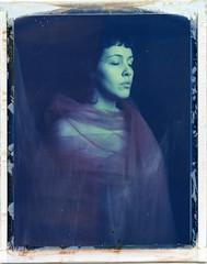 I. (denzzz) Tags: portrait polaroid polaroid669 instantfilm analogphotography filmphotography wista45dx expired
