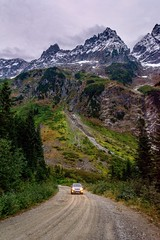 Sometimes the drive to the trailhead is just as scenic as the trail itself. My little Subaru in the stunning North Cascades National Park, WA (plottsdaniel) Tags: nikond7100 nikkor nikon pacificnorthwest pnw washington america unitedstates northamerica mountains mountain forest car subaru northcascadesnationalpark northcascades