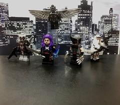 Uncanny X-Force! (juanrg9009) Tags: xforce lego fantomex psylocke archangel deadpool wolverine marvel customminifigures