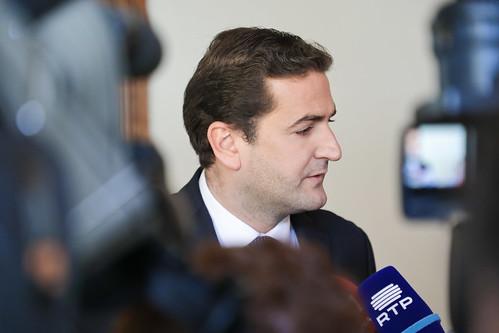 Hugo Soares em Conferência de Imprensa