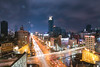 Week 37 (gus_jiang1108) Tags: formosa boulevard 美麗島 捷運 高雄 台灣 夜景 風景 85大樓 車軌 天空