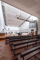 BELLOC-212 (MMARCZYK) Tags: france pays basque pyrénéesatlantiques nouvelleaquitaine belloc abbaye abbatiale opactwo benedictin architecture modernisme brutalisme 1969 64