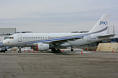 LX-MCO (Global Jet Luxembourg) (Steelhead 2010) Tags: globaljet airbus a319 a319100 yyz lxreg lxmco