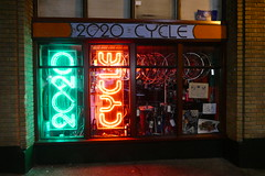 NEON (bballchico) Tags: neon sign seattle capitolhill 2020cycles bikeshop