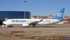 EC-MJU LEMD 18-01-2018 (Burmarrad (Mark) Camenzuli Thank you for the 10.3) Tags: airline air europa aircraft boeing 73785p registration ecmjo cn 60584 ecmju lemd 18012018