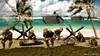 Pacific Beach Assault (WesternOutlaw) Tags: tarawa warinthepacific toysoldiers kingcountry kingandcountry 130 130scale iwojima alligator lvt usmc023 amtrak