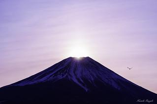 Dawn of Mountain Fuji