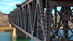 Topock Bridge (robsfrederick) Tags: bridge railroad bnsf santafe topock arizona canon 80d sigma50100mmf18art