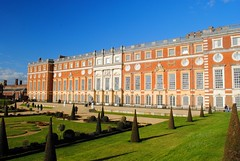Privy Garden and Hampton Court Palace (zawtowers) Tags: hampton court palace east molesey surrey henry viii historic royal residence saturday february 17th sunny dry visit william iii apartments privy gardens