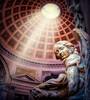 Santa María de los Ángeles y Mártires (Juan Figueirido) Tags: basílicadesantamaríadelosangelesymártires templo temple rome roma miguelangel plazadelarepública lazio italia italy angel ángel estatua sanctae mariae angelorum thermis