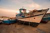 On the hard..... (Dafydd Penguin) Tags: fishing boat old hard quay harbour harbor port dock fish vessel abandoned eu fisher trawler coast coastal sines portugal atlantic town urban europe nikon d610 nikkor 20mm af f28d